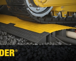 The Defender Mini Cable Protector is a compact, low-profile cable crossover that features a slip-resistant underside and a textured surface which both ensure excellent grip in a range of indoor and outdoor environments.