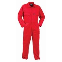 Turu Long Sleeve Polycotton Zip Overall 270gsm