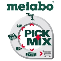 Metabo Pick and Mix Deal - 2 Machines, Batteries & Free Gift