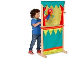 Floor-Standing Puppet Theater
