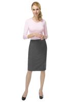 Ladies Marie Wool Rich Skirt