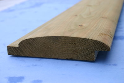 Barrel Board - Loglap Treated 144x30mm x 4.8 Metre