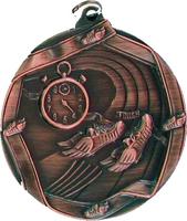 60mm Track Medallion (Antique Bronze)
