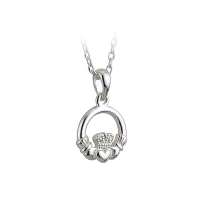 KIDS CLADDAGH PENDANT(BOXED)