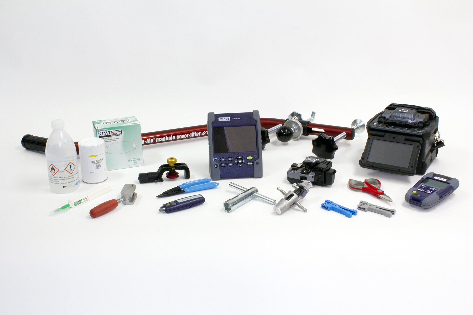 Kit for splicing and assembly of OFP's
