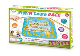 Fish and Count Racing - Educational Game