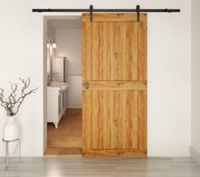 Henderson Rustic R100/30 Single Door Kit 3mtr Black (To Order)