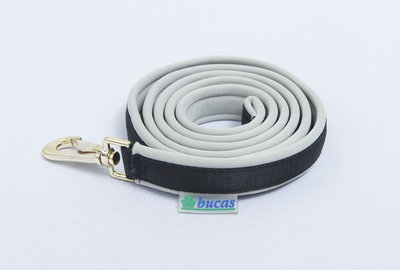 Dublin Padded Lead Rein Black/Si
