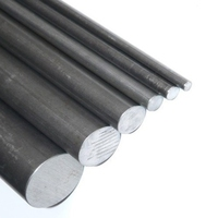 Black Mild Steel Round Bar 1000mm