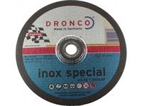 METAL CUTTING DISC THIN 115MM X 1.0 X 22 INOX 41/2X1/25 CDMT4.5 DRA004 A60 RASTA
