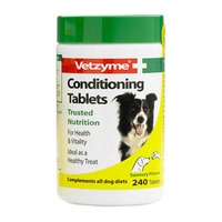 Vetzyme Dog Conditioning Tablets 240 Tab x 1