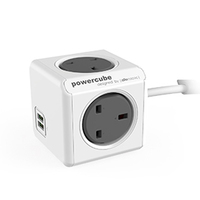 PowerCube 1.5mtr USB Charger / Extension Socket