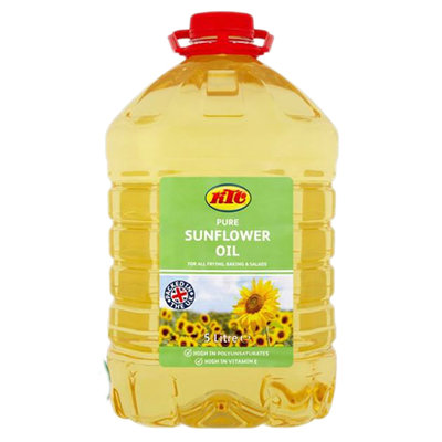 Sunflower Oil (Bottle)-KTC-(5lt)