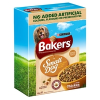 Bakers Complete Small Dog - Chicken & Veg 1kg