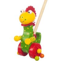Wooden Push Along - Dinosaur