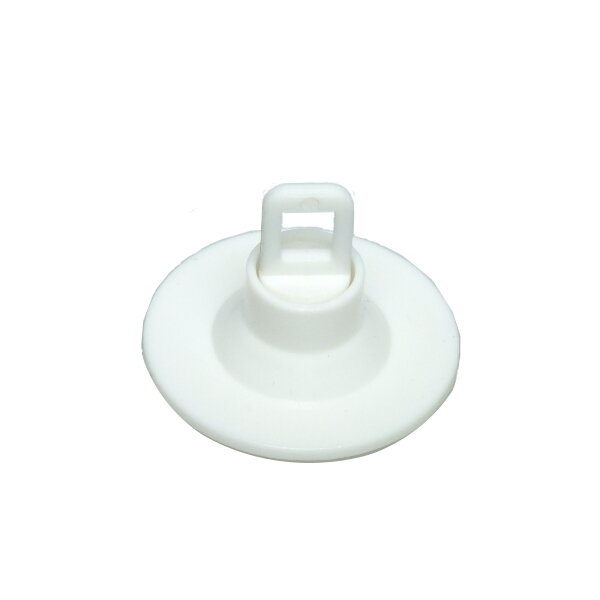 SHOPWORX Rotating Ceiling Buttons 40mm Self adhesive - White (Pack 24)