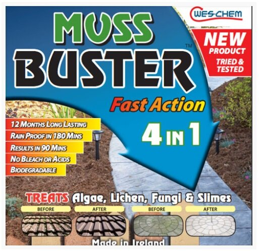 MOSS BUSTER FAST ACTION 4 IN 1 5LTR