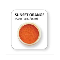 XPC305 -  Sunset Orange Powder colours 2g