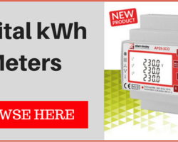 Our partners Sifam Tinsley have released a new range of Digital KWH Meters suited for control panels.
