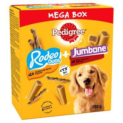 Pedigree Rodeo Duo & Jumbone Medium MEGA BOX 780g x 1
