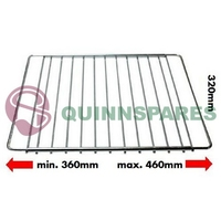 Universal Adjustable Oven Shelf 360-460mm x 320mm Compatible