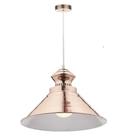 Dauphine 1 Light Pendant, Copper | LV1802.0054