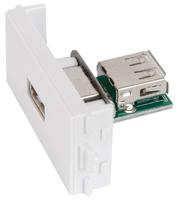 Mercury USB Wall Plate Insert
