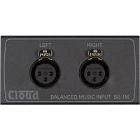Cloud BE-1MB | Media Balanced Input Module - Black (DCM-1 / DCM-1e)