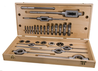 BSP Thread Cutting Set 28 Piece 1/8 to 1""