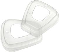 3M 501 2Pk FILTER PLASTIC RETAINERS (10PKTS PER BOX)