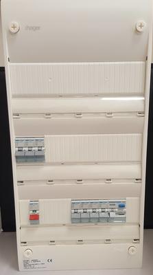 Hager 3 Row Consumer Unit