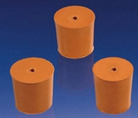 Stoppers Rubber Bs2775 1-Hole No 45 Pk 5