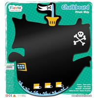 Children's pirate ship chalkboard