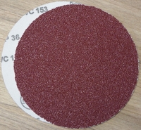 Bison Box Velour Back 6  36 Grit Sand Discs - SAN-DISC-36G
