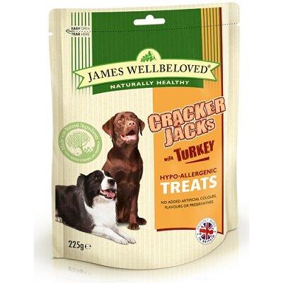 James Wellbeloved Cracker Jacks Turkey 225g