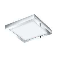 EGLO Fueva 1 LED Polished Chrome Square Ceiling Light LED 22w 3000k | LV1902.0067