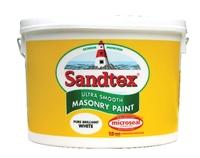 Sandtex White 10 Litre