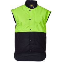 CT Oilskin Vest Hi Vis Day Only
