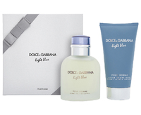 DOLCE AND GABBANA Light Blue Pour Homme 75ml 2pc Gift Set