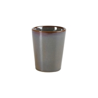 Rustic Stoneware Conical Cup Green 10cm Carton of 12