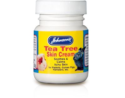 Johnson's Small Animal Tea Tree Skin Cream 40g x 6
