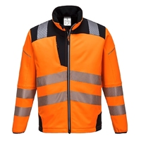 Portwest Vision Hi-Vis Softshell Jacket Orange