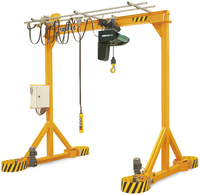 Gantries VGIM - Motorized gantry crane for loads from 1,000 to 6,300 kg