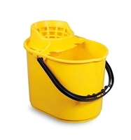PLUTO BUCKET WITH SIEVE YELLOW 12ltr