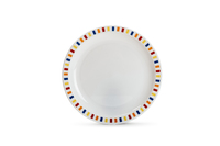 Stripes Multicoloured - 23cm Patterned Plate