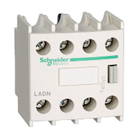 Contactor Auxiliary Block 4 N/O