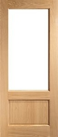 DEANTA NM3 UNGLAZED OAK DOOR 2032MM X 864MM X 45MM