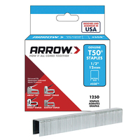 Arrow T50 Staples 12mm 1/2'' - A50824 - 4x1250