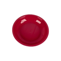 Plastic 20cm Deep Bowl Red