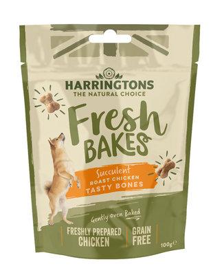Harringtons Fresh Bakes Chicken Tasty Bones 100g x 8